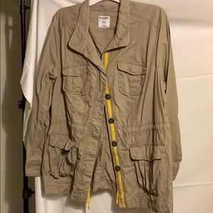 Women's XL Khaki Utility Jacket